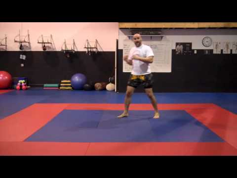 Muay Thai and Boxing footwork and evasions Tutorial 1. Image 1