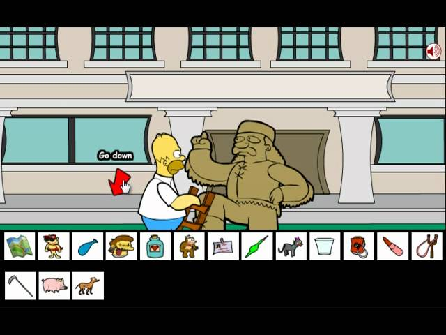 Homer Simpson saw game walkthrough