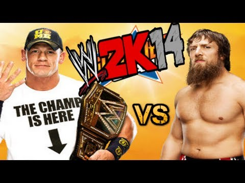 WWE 2K14 GAMEPLAY - John Cena vs Daniel Bryan (Sumerslam 2013 - New WWE Champion))