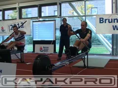 British Indoor Kayak Championships, 200m Final Tim Brabants