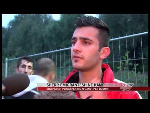 Hamburg, sherr emigrantësh në kamp - News, Lajme - Vizion Plus
