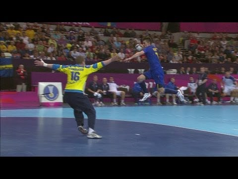 Men's Handball Sweden V Iceland - Group A | London 2012 Olympics video
