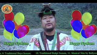 Happy Nyokum Greeting by Tarh Nachung