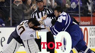 Top Ten NHL Goalie Fights