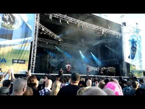 Apocalyptica @ Qstock 2012 (Nokia 808 PureView)