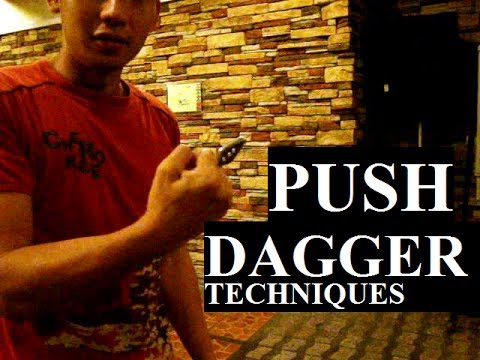 Push Knife ( Urban Pal ) for self defense ( How to use Kali to maximize your game )