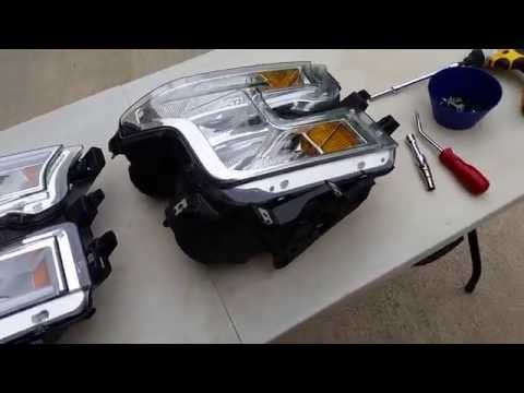 LED headlight swap on 2015 ford f150