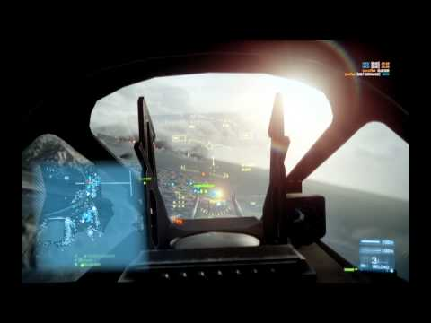 Battlefield 3 Jet Gameplay
