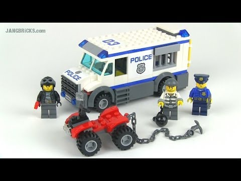 LEGO City 2014 Prisoner Transporter se