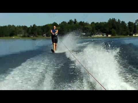 Extreme Footing on Pelican lake Wi