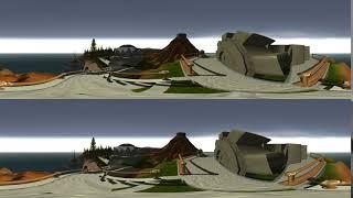 Myst Island Gear Plateau 360º/3D