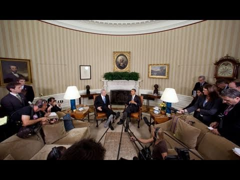 President Obama Meets with Prime Minister Netanyahu
