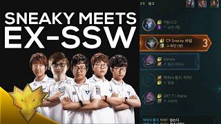 Sneaky Meets Ex-Samsung White - ft. PawN, Looper, DanDy, and Mata - Korean Dynamic Queue