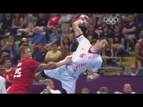 Croatia take on Hungary for the bronze medal in the men's handball event at the Basketball Arena as part of the London 2012 Olympic Games. Subscribe to the O...