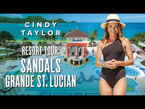 Cindy Taylor - Sandals Grande Saint Lucian