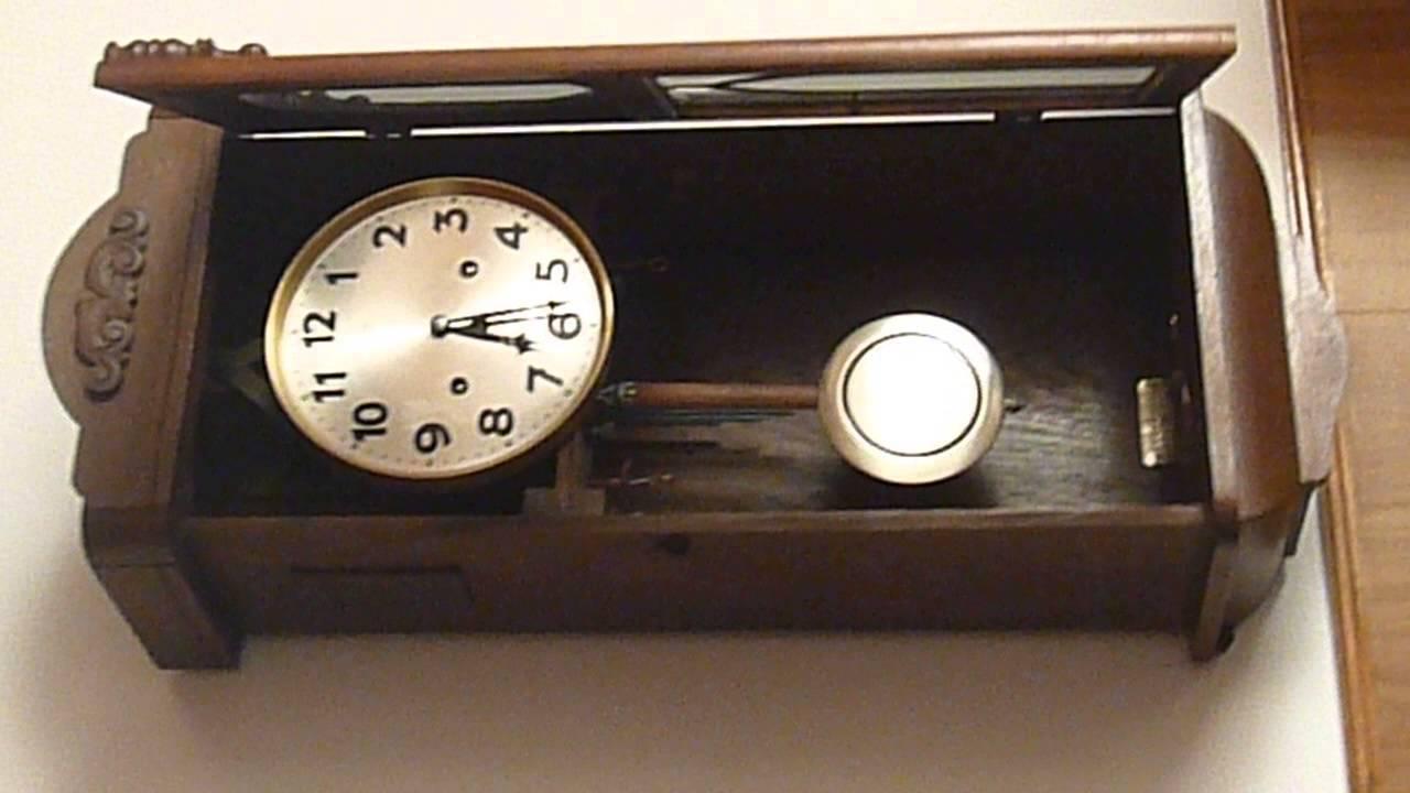 Reloj pared carrillon junghans youtube - Reloj decorativo de pared ...