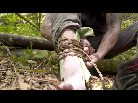 Persevering Through an Ankle Injury | American Tarzan