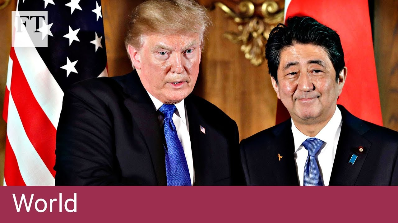 Donald Trump rounds on Japan trade
