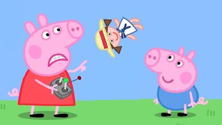 Peppa Pig Full Episodes | Grandpa's Toy Plane | Cartoons for Children