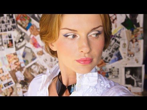 Макияж ДНЕВНОЙ - Светящийся Синий (KatyaWORLD) Music Videos