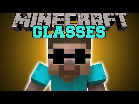 Minecraft: GLASSES (WEAR GLASSES AND BECOME EPIC!) Mod Showcase