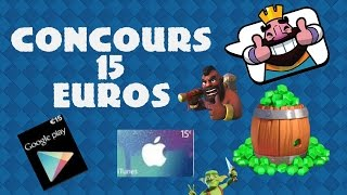 CONCOURS 15€ GOOGLE PLAY OU ITUNES A GAGNER ! [FERME]
