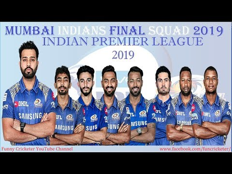 IPL 2019: Mumbai Indians Final Squad 2019