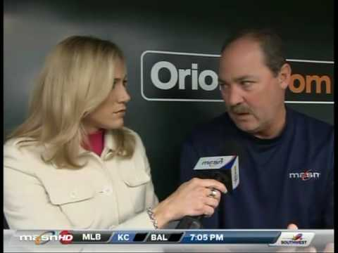 Amber talks with Dave Johnson about Ty Wigginton and the lack of run support for Kevin Millwood Video