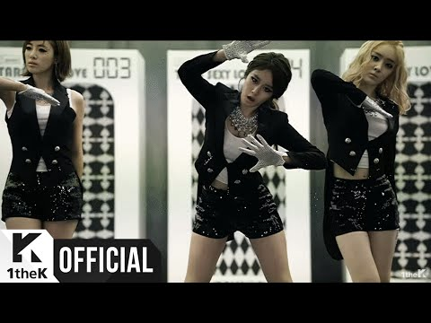 T-ARA() _ Sexy Love (Dance Ver. MV)