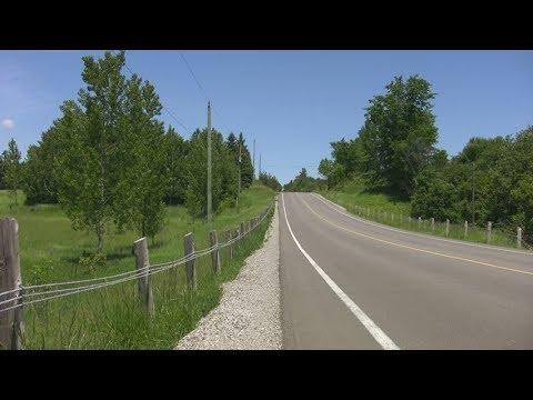 Country road. Ontario. Canada