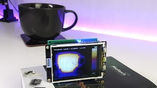DIY thermal imager on the MLX90640