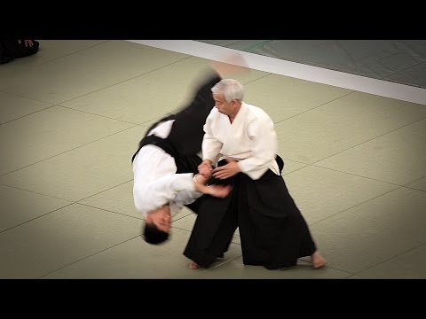 Ueshiba Moriteru Doshu - 53rd All Japan Aikido Demonstration (2015)