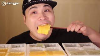 Thánh Ăn Hàn Quốc Mới Nhất || Mukbang Ăn Bánh Tráng Miệng  Pudding Siêu Ngon Siêu Hấp Dẫn