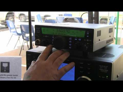 Ten-Tec Eagle HF Transceiver at the Ballarat Hamvention, Ballarat Australia 2010