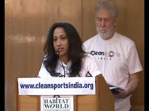 Ashwini Nachappa - Speaks On How To Join Clean Sports India Movement