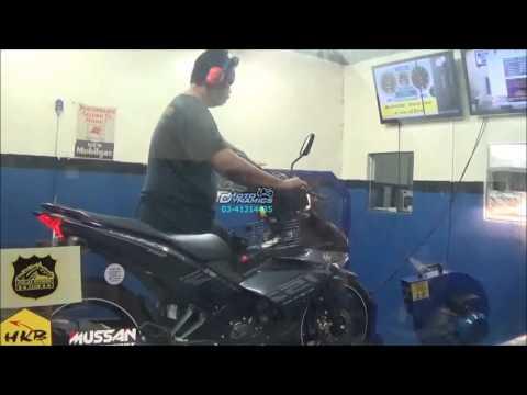 Yamaha Y15ZR aRacer RC M4 Dyno Tuning - Motodynamics Technology MalaysiM