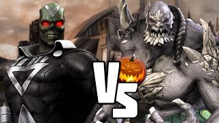 INJUSTICE VERSUS Zombies VS Monsters Halloween Edition! (HD)