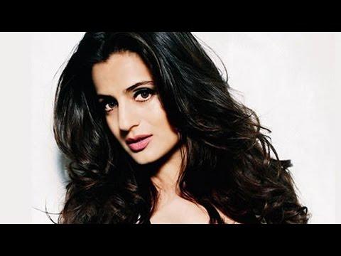 Ameesha Patel Reveals White Panty At 'desi Magic  Music Launch video