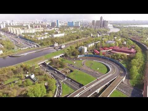 Канал им.Москвы над Волоколамским шоссе