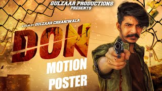 Gulzaar Chhaniwala - Don | Motion Poster | Releasing on 5 June 2020