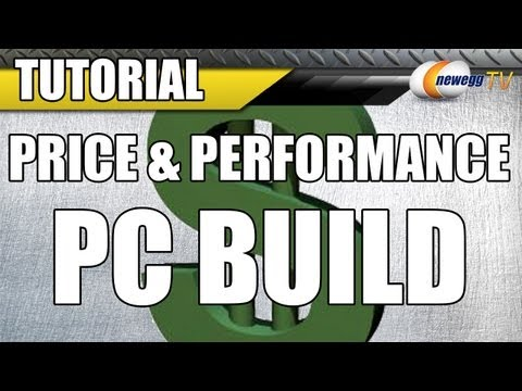 Price and Performance PC Build Video