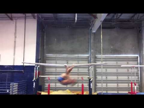 World PB Champ Danell Leyva - New Routine with 6.6 SV