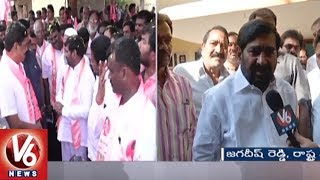 Face To Face With Suryapet TRS Candidate Jagadish Reddy Over Election Campaign