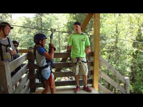 Zip Line in Sevierville, Tennessee