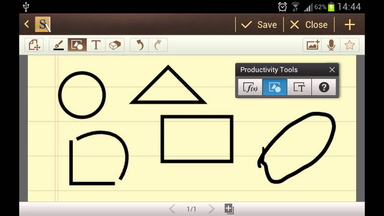 S Note Tutorial: Productivity Tools on Galaxy Note - YouTube