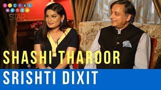 Social Media Star Season Finale   Shashi Tharoor, Srishti Dixit