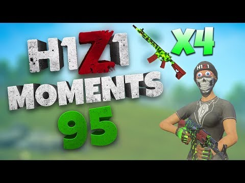 4 TOXIC ARs in 4 CRATES (INSANE) | H1Z1 - BEST MOMENTS AND STREAM HIGHLIGHTS #95