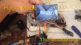 How to connect the display from a mobile phone to Arduino
