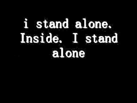 I Stand Alone Godsmack Lyrics video
