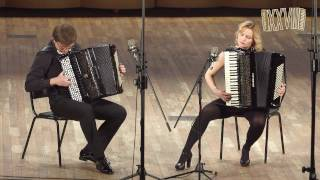 G.HERMOSA Anantango for accordion duo - Alexander Selivanov and Julia Amerikova